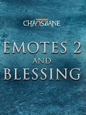 Warhammer Chaosbane Emotes 2 & Blessing - PC