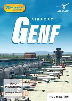 X Plane 11 Add on Aerosoft Airport Genf - PC
