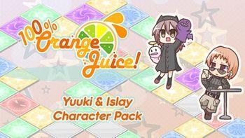 100 Orange Juice Yuuki & Islay Character Pack - PC