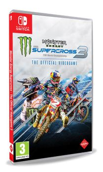 Monster Energy Supercross 3 The Official Video Game - SWITCH