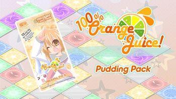 100 Orange Juice Pudding Pack - PC