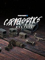 PAYDAY 2 Cartel Optics Mod Pack - PC