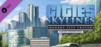 Cities Skylines Content Creator Pack Modern City Center - Mac