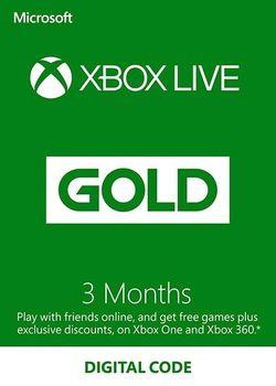 Xbox Live Gold - XBOX ONE