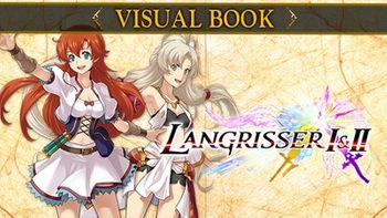 Langrisser I & II Visual Book - PC
