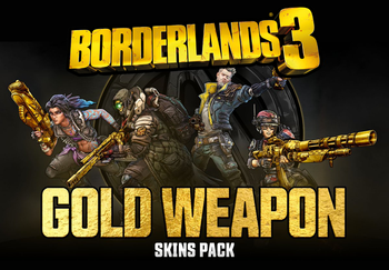 Borderlands 3 Gold Weapon Skins Pack - XBOX ONE