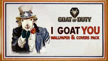 Goat of Duty Wallpapers & Covers Pack - PC