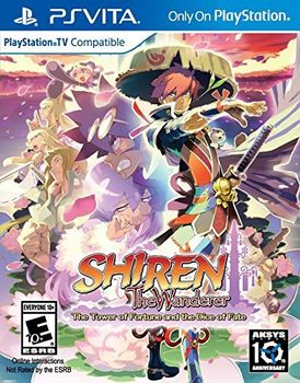 Shiren the Wanderer : The Tower of Fortune and the Dice of Fate - PSVITA