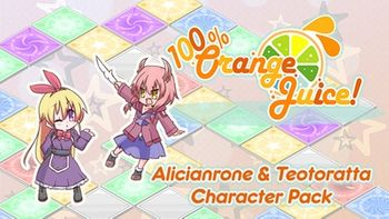 100 Orange Juice Alicianrone & Teotoratta Character Pack - PC